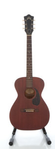 Musical Instruments:Acoustic Guitars, Circa 1966 Guild M-20 Mahogany Acoustic Guitar, Serial #AH-841....