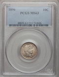 Barber Dimes: , 1896 10C MS63 PCGS. PCGS Population (30/57). NGC Census: (15/52).Mintage: 2,000,762. Numismedia Wsl. Price for problem fre...