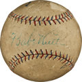 Autographs:Baseballs, Circa 1927 Babe Ruth Single Signed Baseball....