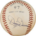 Autographs:Baseballs, 1960's Dizzy Dean Single Signed Baseball. ...