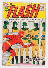 The Flash #105 (DC, 1959) Condition: GD+