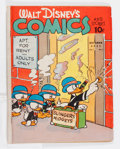 Golden Age (1938-1955):Cartoon Character, Walt Disney's Comics and Stories #13 (Dell, 1941) Condition: GD....