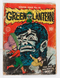 Golden Age (1938-1955):Superhero, Green Lantern #10 (DC, 1943) Condition: PR....