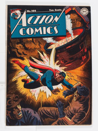 Action Comics #108 (DC, 1947) Condition: VG/FN