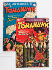 Tomahawk #3 and 4 Group (DC, 1951).... (Total: 2 Comic Books)