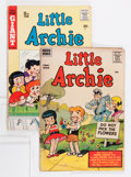 Silver Age (1956-1969):Humor, Little Archie #1 and 11 Group (Archie, 1956-57).... (Total: 2 Comic Books)