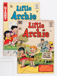 Little Archie #1 and 11 Group (Archie, 1956-57).... (Total: 2 Comic Books)