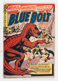 Golden Age (1938-1955):Science Fiction, Blue Bolt #107 (Star Publications, 1950) Condition: VG+....