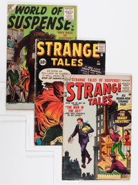 Atlas/Marvel Golden/Silver Age Comics Group (Atlas/Marvel, 1954-56).... (Total: 7 Comic Books)
