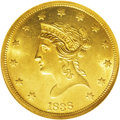 Liberty Eagles: , 1838 $10 MS63 NGC. While other denominations of gold coins were struck with minimal breaks in production, the ten dollar go...