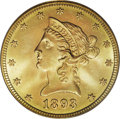 Liberty Eagles: , 1893-S $10 MS66 PCGS. Looking over Heritage auction records one isimmediately taken back by the fact that no other 1893-S ...