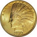 Indian Eagles: , 1930-S $10 MS65 NGC. In September 2002 we offered three examples ofthis rare date Indian eagle in a single sale, and the f...