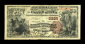 National Bank Notes:Pennsylvania, Pittsburgh, PA - $50 1882 Brown Back Fr. 518 The Bank ofPittsburgh, National Assoc Ch. # (E)5225. ...