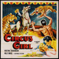 "Movie Posters:Adventure, Circus Girl (Republic, 1956). Six Sheet (81"" X 81""). Adventure. ..."