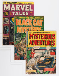 Miscellaneous Golden Age Horror Comics Group (Various Publishers, 1951-58).... (Total: 9 Comic Books)