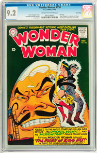 Wonder Woman #158 Twin Cities pedigree (DC, 1965) CGC NM- 9.2 Off-white to white pages