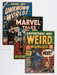 Miscellaneous Golden Age Pre-Code Horror Comics Group (Various Publishers, 1952-53).... (Total: 3 Comic Books)