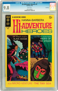 Hi-Adventure Heroes #2 Twin Cities pedigree (Gold Key, 1969) CGC NM/MT 9.8 White pages