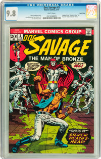 Doc Savage #3 Twin Cities pedigree (Marvel, 1973) CGC NM/MT 9.8 White pages