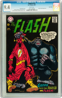 The Flash #172 Twin Cities pedigree (DC, 1967) CGC NM 9.4 White pages