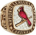 Baseball Collectibles:Others, 2004 St. Louis Cardinals National League Championship Ring....