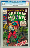 Bronze Age (1970-1979):Superhero, Captain Marvel #20 Twin Cities pedigree (Marvel, 1970) CGC NM/MT 9.8 White pages....