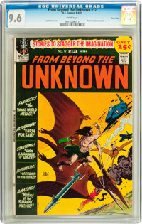 From Beyond the Unknown #12 Twin Cities pedigree (DC, 1971) CGC NM+ 9.6 White pages
