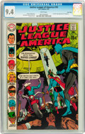 Bronze Age (1970-1979):Superhero, Justice League of America #78 Twin Cities pedigree (DC, 1970) CGC NM 9.4 White pages....