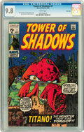 Bronze Age (1970-1979):Horror, Tower of Shadows #7 Twin Cities pedigree (Marvel, 1970) CGC NM/MT9.8 White pages....