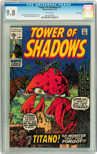 Tower of Shadows #7 Twin Cities pedigree (Marvel, 1970) CGC NM/MT 9.8 White pages
