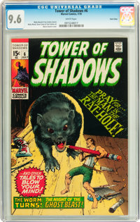Tower of Shadows #6 Twin Cities pedigree (Marvel, 1970) CGC NM+ 9.6 White pages