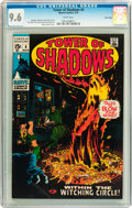 Bronze Age (1970-1979):Horror, Tower of Shadows #4 Twin Cities pedigree (Marvel, 1970) CGC NM+ 9.6 White pages....