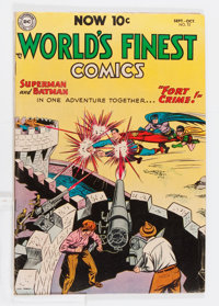 World's Finest Comics #72 (DC, 1954) Condition: VG-