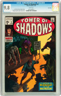 Bronze Age (1970-1979):Horror, Tower of Shadows #3 Twin Cities pedigree (Marvel, 1970) CGC NM/MT9.8 White pages....