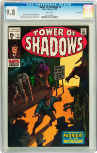 Tower of Shadows #3 Twin Cities pedigree (Marvel, 1970) CGC NM/MT 9.8 White pages