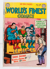 World's Finest Comics #70 (DC, 1954) Condition: VG-