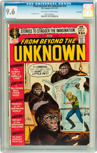 From Beyond the Unknown #14 Twin Cities pedigree (DC, 1972) CGC NM+ 9.6 Off-white to white pages