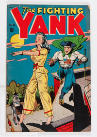 Fighting Yank #25 (Nedor Publications, 1948) Condition: VG