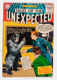 Tales of the Unexpected #2 (DC, 1956) Condition: VG