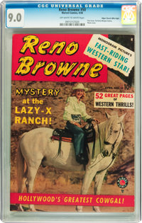 Reno Browne #50 Mile High pedigree (Marvel, 1950) CGC VF/NM 9.0 Off-white to white pages