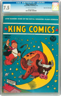 Golden Age (1938-1955):Humor, King Comics #57 Mile High pedigree (David McKay Publications, 1941) CGC VF- 7.5 Off-white to white pages....