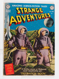 Golden Age (1938-1955):Science Fiction, Strange Adventures #1 (DC, 1950) Condition: VG....