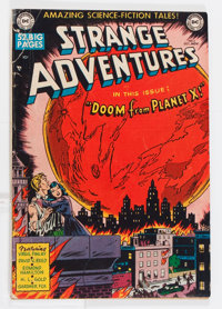 Strange Adventures #2 (DC, 1950) Condition: GD/VG