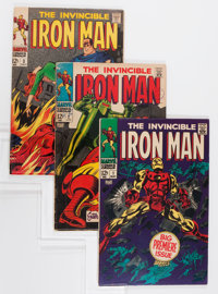 Iron Man #1-20 Group (Marvel, 1968-69) Condition: Average VG.... (Total: 20 Comic Books)