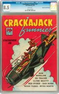 Crackajack Funnies #21 Mile High pedigree (Dell, 1940) CGC VF+ 8.5 White pages