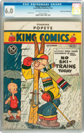 Golden Age (1938-1955):Cartoon Character, King Comics #33 Mile High pedigree (David McKay Publications, 1938) CGC FN 6.0 Off-white to white pages....