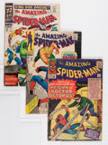 Silver Age (1956-1969):Superhero, The Amazing Spider-Man Group (Marvel, 1964-69) Condition: Average VG.... (Total: 16 Comic Books)