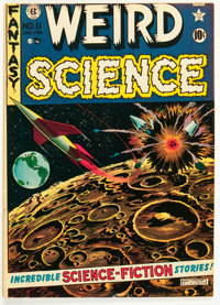 Weird Science #11 (EC, 1952) Condition: FN/VF