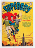 Golden Age (1938-1955):Superhero, Superboy #4 (DC, 1949) Condition: GD/VG....