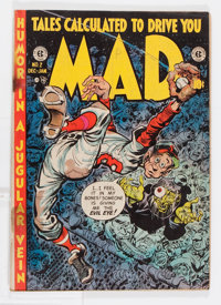 Mad #2 (EC, 1952) Condition: GD+